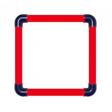 WLED-PS-T8GRID-SQ0.5F-10W (RED)