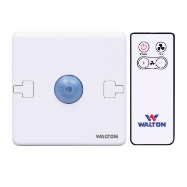 WRCFSR.01 PEARL WHITE (REMOTE CONTROL FAN SPEED REGULATOR)