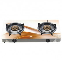 GLASS TOP DOUBLE BURNER