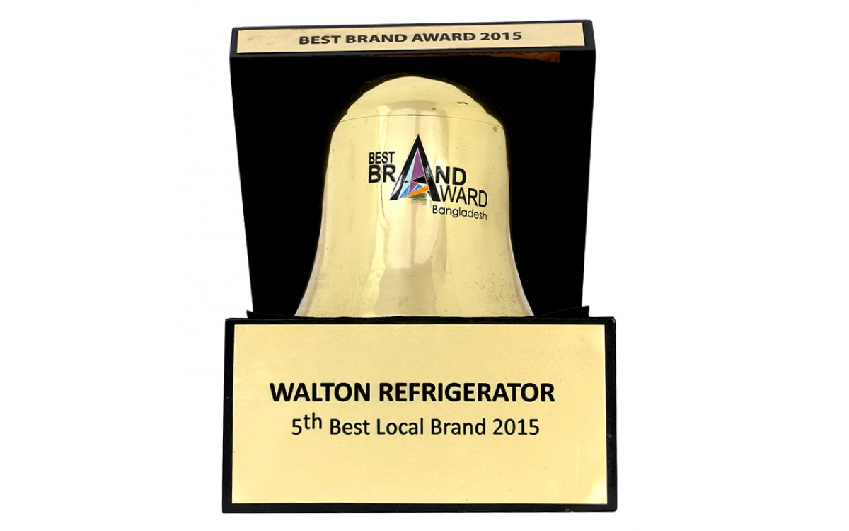 5th Best Refrigerator Local Brand Award-2015